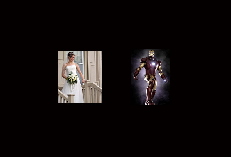 The Bride and the Ironman - Michael Shermis Portfolio