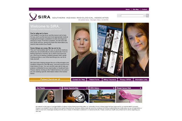Southern Indiana Radiological Services (SIRA) - Michael Shermis Portfolio